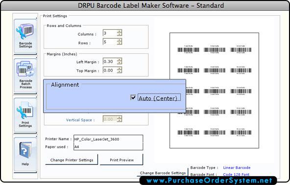 Barcode Label Maker Software – Mac screenshots barcodes