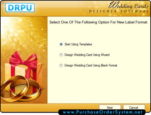Wedding Card Designing Software Creates Marriage Invitation Cards